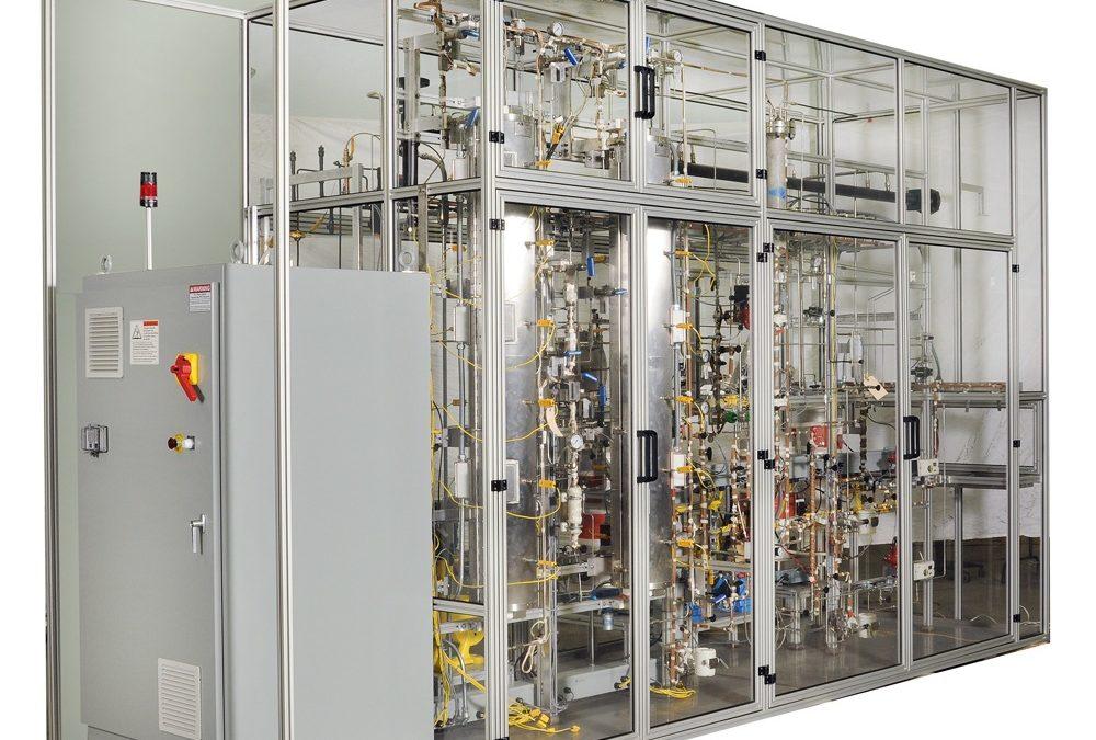 Pyrolysis Liquid (Pyoil) Hydroprocessing Pilot Plant